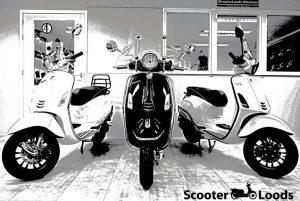 scooterwinkel in Amsterdam